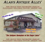 Custom Website: Antique Shop