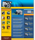 Website Re-design: Camera Store