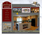 Custom Website: Saratoga Custom Homes